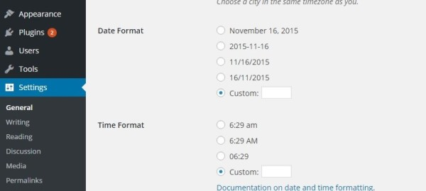 How to hide dates in wordpress post