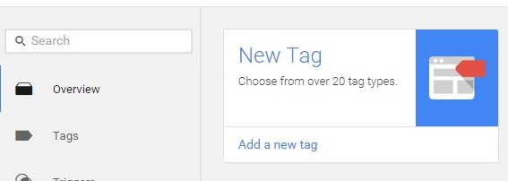 NEW TAG in GTM